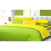 Sprei Polos Premium 160 Green Yellow