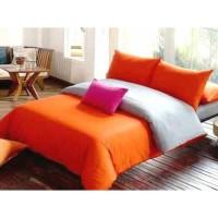 Sprei Polos Premium 160 Orange Grey
