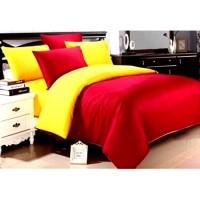 Sprei Polos Premium 160 Red Yellow