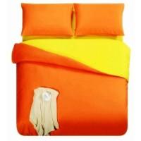 Sprei Polos Premium 160 Orange Yellow
