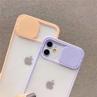 iPhone 11Pro Max Slider Protection Camera Matte Transparan Soft Case