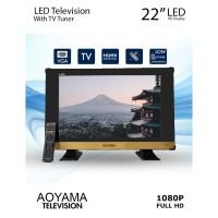 TV LED AOYAMA 22 inch Bisa USB & HDMI