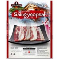 Svens Choice Korean Sliced Pork Belly / Samcan / Samgyeopsal BBQ 300gr