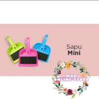 SAPU MINI + SEROKAN / Sapu Mini Set Serok Cikrak Kecil