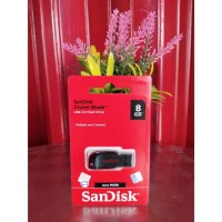 FLASH DISK SANDISK 8 GB USB 2.0 CRUZER BLADE CZ50 ORIGINAL 100 % RESMI