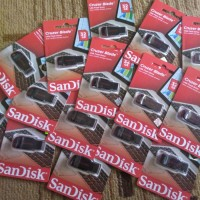 USB Flashdisk Sandisk 32GB Cruzer Blade Original / Flashdrive 32 GB