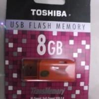 USB Flashdisk Toshiba 8GB / Flash Disk Toshiba 8 GB USB ORIGINAL