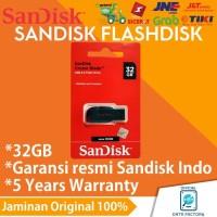 Flashdisk Sandisk Cruzer Blade 32GB CZ50 100% Original Garansi Resmi