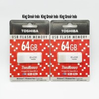 Flashdisk TOSHIBA HAYABUSA 64GB 64 GB Flashdrive Original OEM