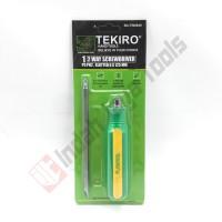 TEKIRO SD-TW0849 2 Way Screwdriver - Obeng Bolak Balik Plus Min