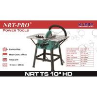 "NRT-PRO TS 10"" HD Mesin Table Saw 10 Inch - Gergaji Meja Potong Kayu"
