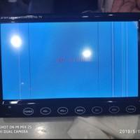 tv monitor 7 inch on dash ada garis dilayar tetap normal dinyalakan ju