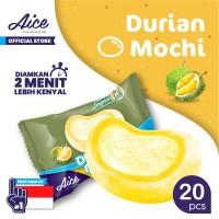 Paket Aice Ice Cream Mochi Durian Es Krim (isi 20 pcs)