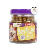 BBN Beef Stick With Soft Filling - Snack Makanan Cemilan Anjing Hewan