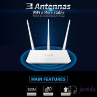 !Tenda F3 300Mbps Router Repeater Wireless WiFi Multi Bahasa