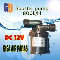 pompa air booster dc pompa dorong air panas 800L/H
