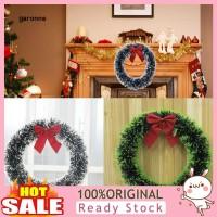 GA Wreath Garland Pita Merah Ornamen Gantung Dinding/Pintu untuk