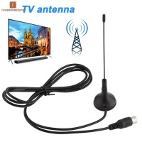LV Digital DVB-T Indoor HDTV Antenna UHF/VHF Magnetic Suction Cup