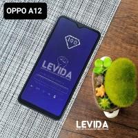 TEMPERED GLASS OPPO A12 ANTI BLUE ANTI RADIASI TG FULL LEM OPPO A12