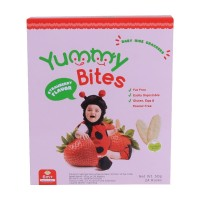 YUMMY BITES STRAWBERRY 50 GR