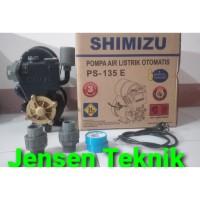 Mesin Pompa Air Sumur Dangkal Shimizu PS 135 E - Otomatis komplit