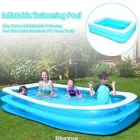 Kolam Renang Tiup Portable Anak/Dewasa Untuk Indoor/Outdoor/Musim