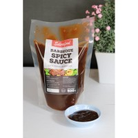 Barbeque Spicy Sauce - Saus Pedas BBQ Selerafood 500 gr/pack