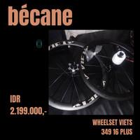 wheelset -- roda sepeda lipat - velg VIETS 349 16 PLUS