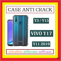 VIVO Y17 Y3 Y15 Y12 U10 Y11 ANTI CRACK SILIKON SOFTCASE TEBAL 910541