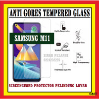 SAMSUNG M11 6.4 INCH M115 ANTI GORES TEMPERED GLASS KACA BENING 910624