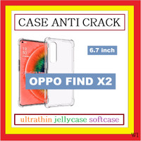 OPPO FIND X2 6.7 INCH ANTI CRACK ULTRATHIN CASE TEBAL SILIKON 910522