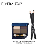 Rivera Banded Eyshadow & Eybrow Pencil Black