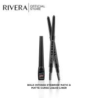 Rivera Matic Eyebrow & Matte Curse Liquid Liner