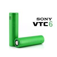 Baterai SONY VTC6 VTC 6 18650 3000mAh 30A 3.7V Battery Batre isi 2 pcs