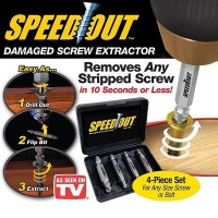 Speedout Pembuka Baut Rusak / Damage Screw Extractor Remover Stripped