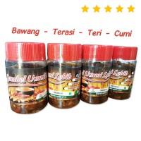 Sambel Ummi Labib HALAL Non-MSG - Sambal Bawang / Terasi / Teri / Cumi