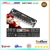 Mainan Piano Anak Digital Electronic Keyboard 61 Keys - Black