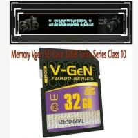 Memory Vgen SD Card 32GB TURBO Series CLASS 10