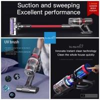 KURUMI KV-06 Cordless Stick Vacuum Cleaner with Bed & Roller Mop Brush