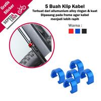 Clip Cable Housing Klip Penjepit Kabel Rem Shifter Sepeda