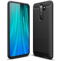 Case Ipaky Carbon Fiber REDMI NOTE 8 PRO 6.53 Softcase Shockproof TPU