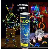 Glow Stick / Glowstick / gelang pospor glow in the dark isi 50 pcs