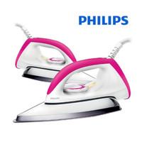 Philips Setrika Listrik Dry Iron HD 1173 Gosokan Baju Seterika GARANSI