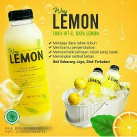 Waylemon Sari Buah Lemon Asli Way Lemon 500 ML Jus lemon
