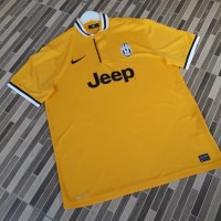 Jersey Juventus Away 2013/14 Authentic Original Kuning