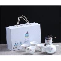 Chinese Tea Set Unik dan Elegant - Gift Box Tea Set Flower