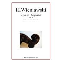 Buku Biola Etudes - Caprices Op. 18 by Henry Wieniawski