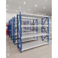 Rak Gudang Pabrik dan Industri Skala Light Duty Tinggi 2 Meter 4 Level