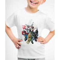 Kaos Baju anak Justice League super hero