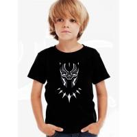 Kaos Baju Tshirt Anak Black Phanter